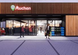 Nowe sklepy Easy Auchan na stacjach paliwowych - będą czynne całą dobę