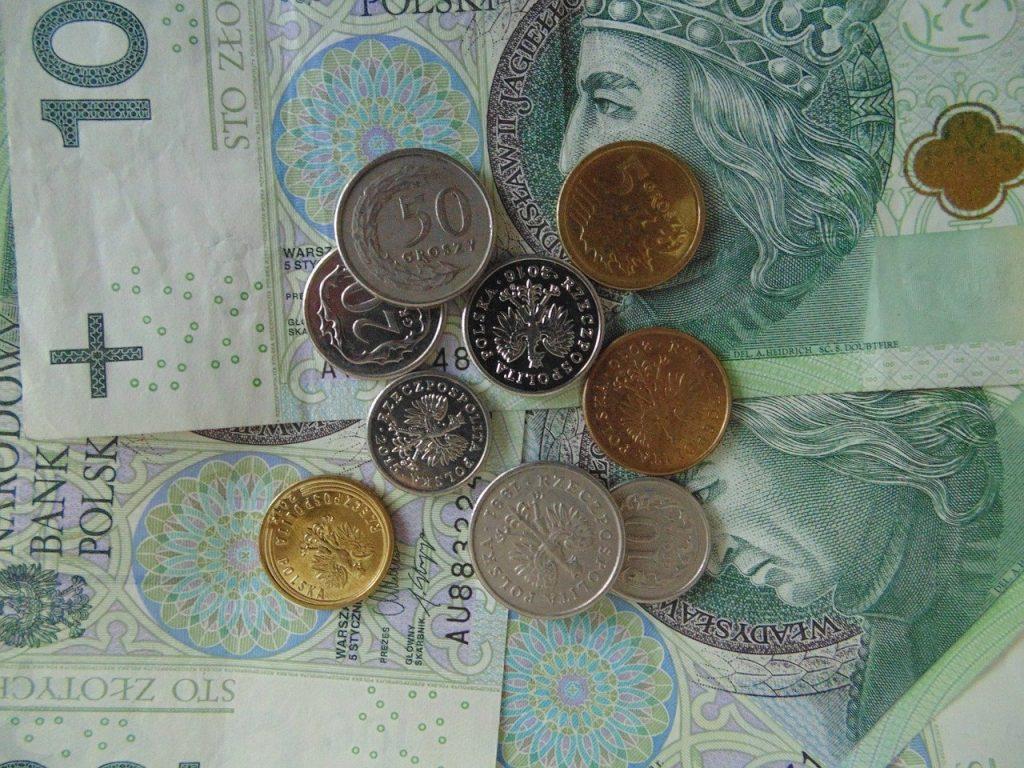 Polskie monety i banknoty stuzłotowe